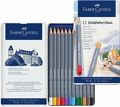 Faber-Castell - Goldfaber Aqua Water'colour Pencils Tin 12