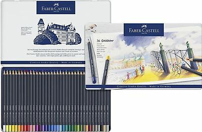 Faber-Castell - Goldfaber Colour Pencils Tin of 36