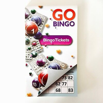 Bingo tickets cards books.  450 - 1350 tickets