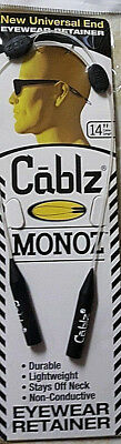 Cablz Monoz 14'' White Adjustable Eyewear Container