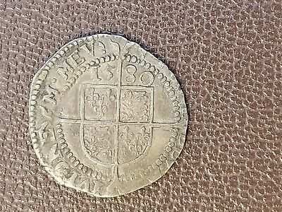 Great Britain 1580 3d Elizabeth Maundy; VF; Rare and Nice