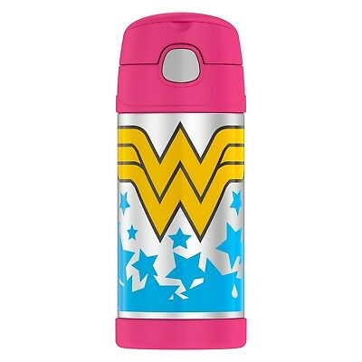 NEW Thermos FUNtainer Wonder Woman Water Bottle  - 12 OZ