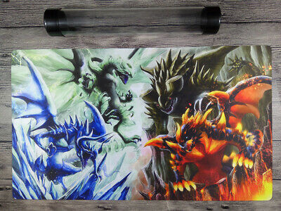 YuGiOh Dragons Mat Dragon Ruler Custom Trading Card Game Playmat Free Best Tube
