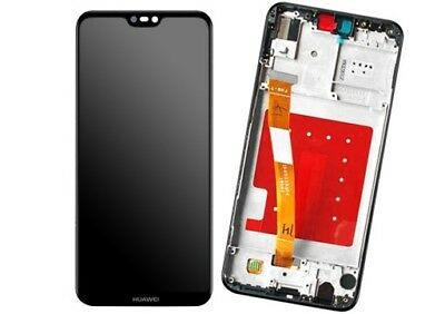 display LCD huawei p20 lite nero completo di frame ricambio lcd touch ane-lx1