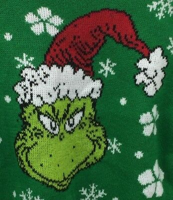 The Grinch 2T Holiday Christmas Sweater How the Grinch Stole Christmas Dr Seuss