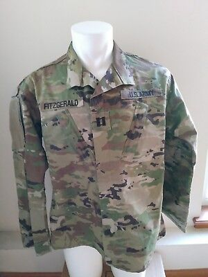 US ARMY Combat Uniform Coat Unisex Insect Repellent Camo Medium Regular