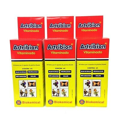 3 ARTRIBION VITAMINADO 3 DISPLAY 20 Packs x 4 Pills each one *** ORIGINAL***