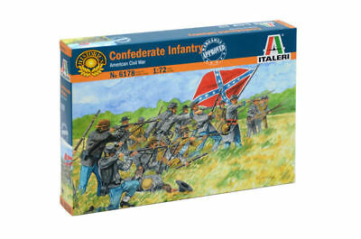 Confederate Infantry American Civil War - Military 1/72 - Italeri 6178