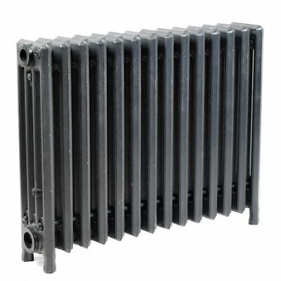 """Cast Iron Radiator, 19""""H x 24 1/2""""L x 4 1/2""""W, 4 Tubes, 14 Sections"""