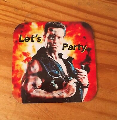 Commando Fab Fridge Magnet Coaster