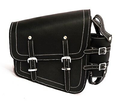 Motorcycle Saddlebag Saddle Tool Bag For Harley Davidson Cafe Racer Triumph