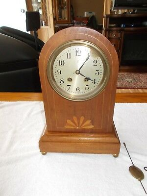 Antique Wurttemberg Germany Mantel Clock HAC Crossed Arrows Mark