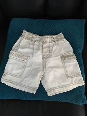 Baby boy Timberland cargo shorts aged 6 months