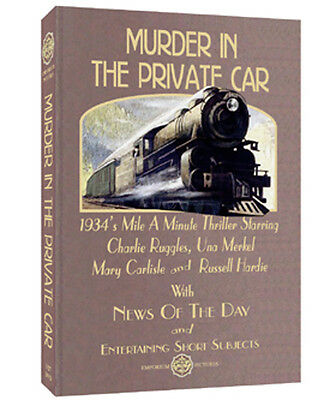 Murder In The Private Car (1934) A Fun Mystery On DVD W/Extras & FREE SHIPPING!