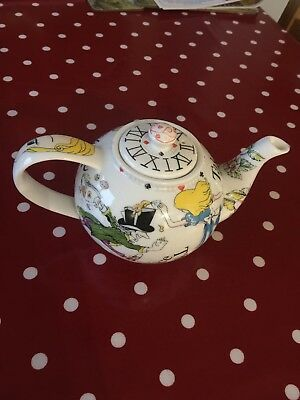 PAUL CARDEW COLLECTABLE ALICE IN WONDERLAND TEAPOT (Small 2 Cup Teapot)