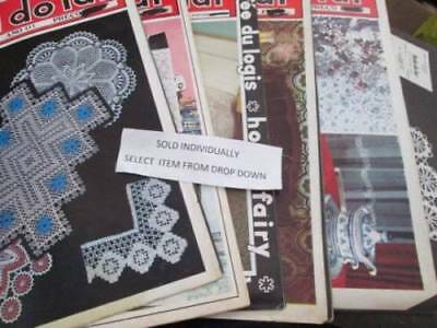 Portuguese Crochet Craft Book Your Choice-Text Is In Portuguese ONLY