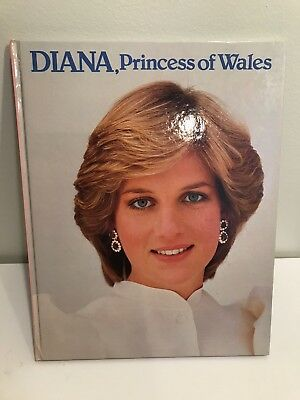 Diana, Princess Of Wales Book, 1982, by Trevor Hall, Greenwich House