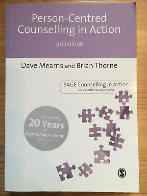 Person-Centred Counselling in Action (Counselling in Action series), Dave Mearns