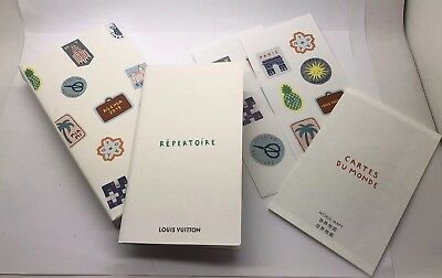 1f1ece1b286e Louis Vuitton Journal 2019 Box With Stickers Address Book   Map ..no Diary