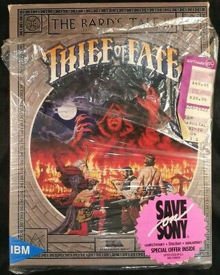 Bard's Tale III: The Thief of Fate (PC, 1988) *Partially sealed*