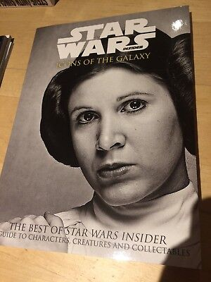 Star Wars Insider Best Of Book Icons Of The Galaxy New 2017 Carrie Fisher New