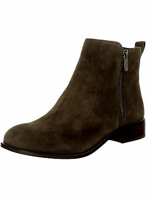 Jessica Simpson Women's Kesaria Suede Ankle-High Leather Boot