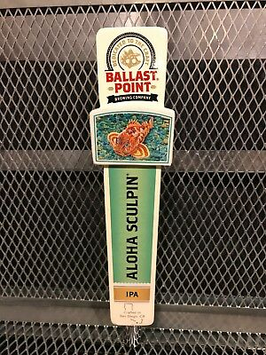 d1973a56ac517 BALLAST POINT BREWING Co San Diego ~ ALOHA Sculpin HAZY IPA ~ Beer Tap  Handle