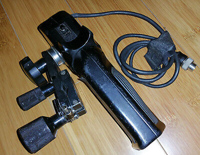Fujinon SRD-52 8-pin Pistol Grip Video Lens Zoom Controller with MCA-1A Clamp