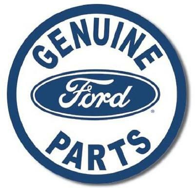 Genuine Ford Parts Round Sign