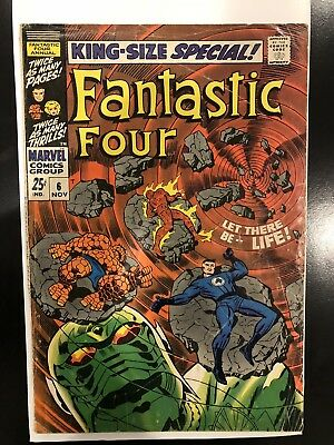 Fantastic Four Annual #6 G/VG 1ST Appearance Of Annihilus Key Issue! Hot