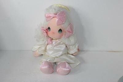 """New NOS Vintage Precious Moments ANGIE Doll by APPLAUSE 1980's 15"""" MINT 2 Tags"""
