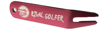 'Unruly' Anodized PINK Divot Tool by Rival Golfer