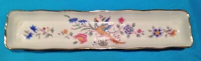 Hammersley Olive Dish Birds of Paradise Pattern in MINT Condition-UNUSED
