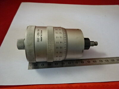 Mitutoyo Huge Micrometer Screw Positioning Measure Microscope Part As Is &99-06