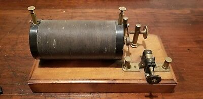 Rare Antique Scientific Ruhmkorff Induction Coil