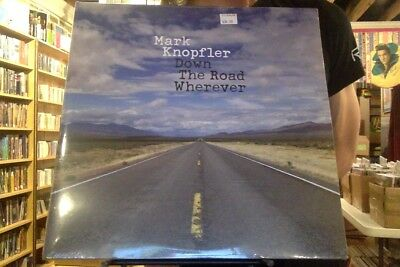 Mark Knopfler Down the Road Wherever 2xLP sealed vinyl