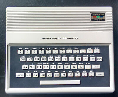 Vintage Radio Shack TRS-80 MC-10 Micro Color Computer WORKING