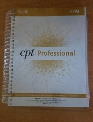 CPT Professional 2019 by American Medical Association Spiral Book Brand New!