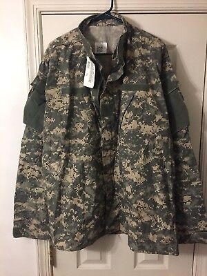 New US Army ACU Digital Military Combat Uniform Shirt Jacket Top Coat Large XL/L
