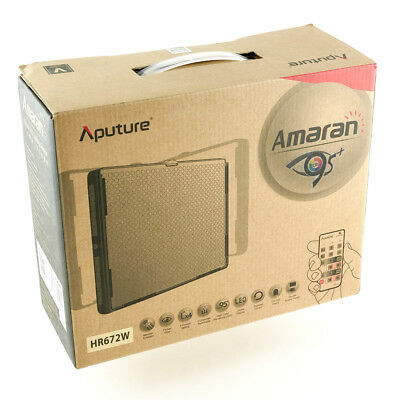 Aputure Amaran 672 LED Panel Video Light - High CRI Daylight Flood AL-HR672W