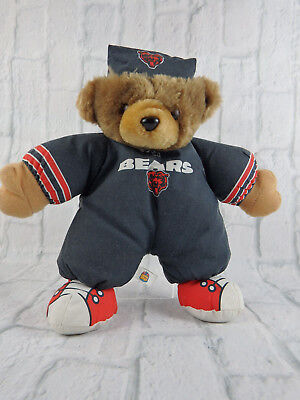 Good Stuff Chicago Bears Bear in PJ's with Nightcap and Sneakers 2000