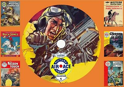 Air Ace & Other UK Picture Library Comics On DVD Rom