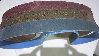 """2"""" x 72"""" (50 x1830) Scotch Brite Surface Conditioning Belts (pack off 3)"""