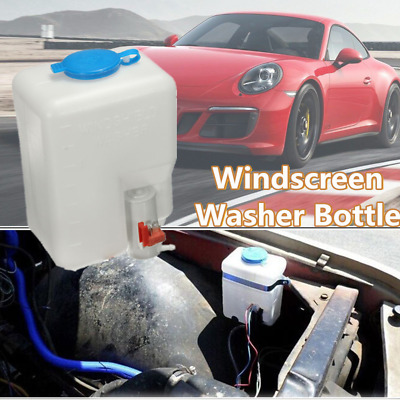 Universal 12V Windscreen Washer Bottle Kit Screenwash Cleaning Tools for Classic