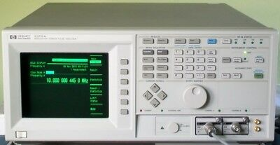AGILENT Hewlett Packard HP5373A Frequency Time Interval Counter Analyzer