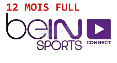 Code d'1 an pour beIN SPORTS CONNECT