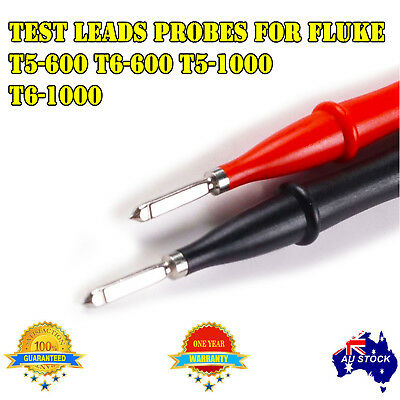 Test Leads Probes for Fluke T6-600 Voltage Continuity Electrical Tester AU