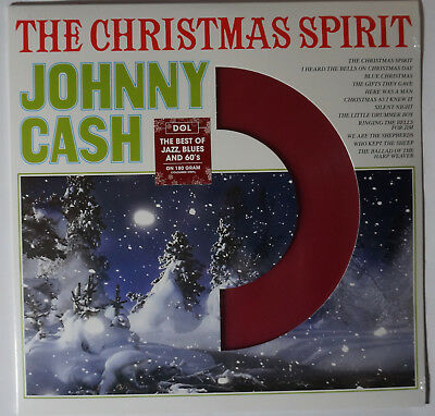 Johnny Cash - The Christmas Spirit LP 180g coloured red vinyl NEU/SEALED