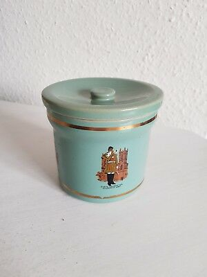 Vintage Collectible Denby Queen's Guard Collectable Stoneware Jar/Storage - Teal