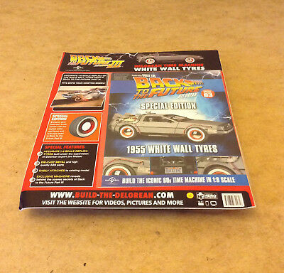 Build Back To The Future Delorean Time Machine 1955 White Wall Tyres Issue